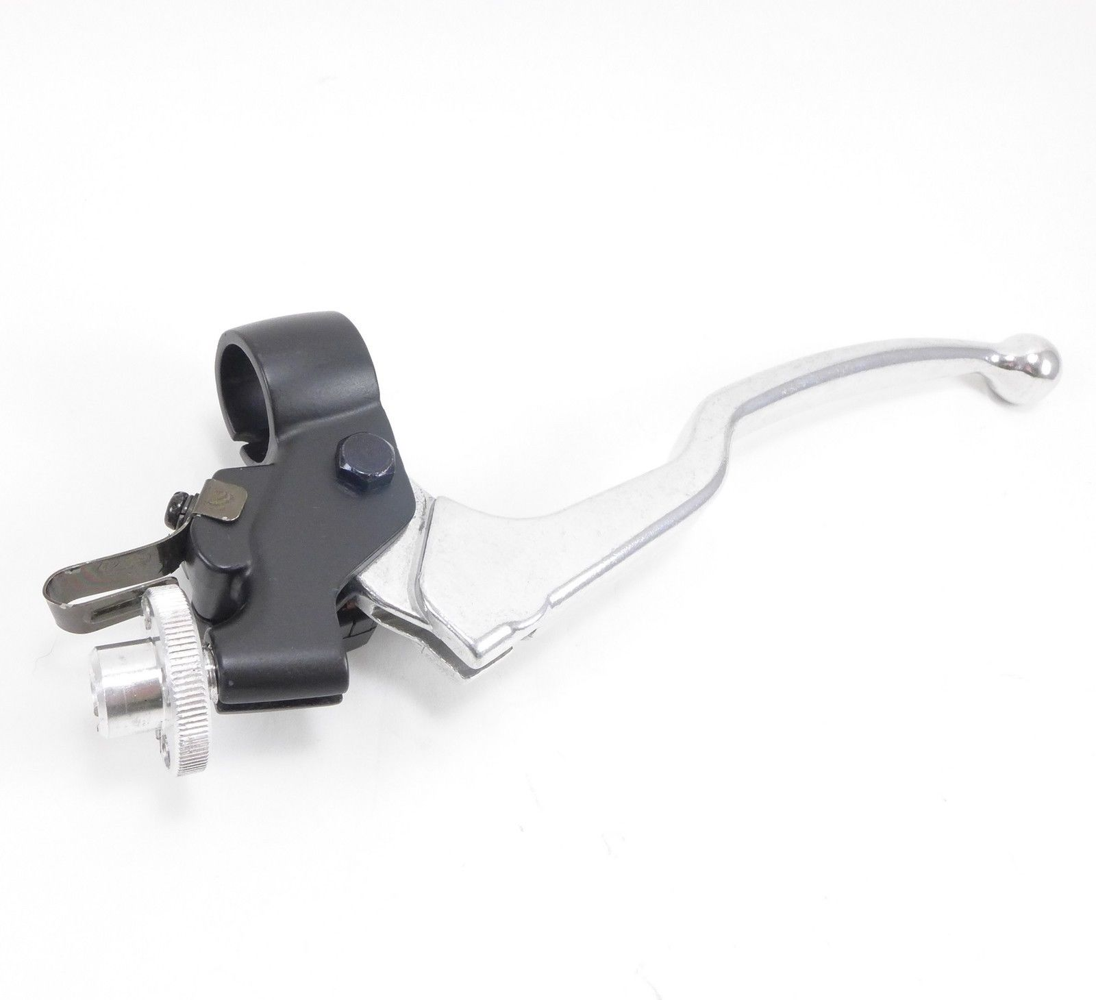 Cable Lever Arm : Suzuki clutch lever w perch cable adjuster motorcycle