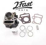 Honda 50cc Domed Piston Cylinder Kit