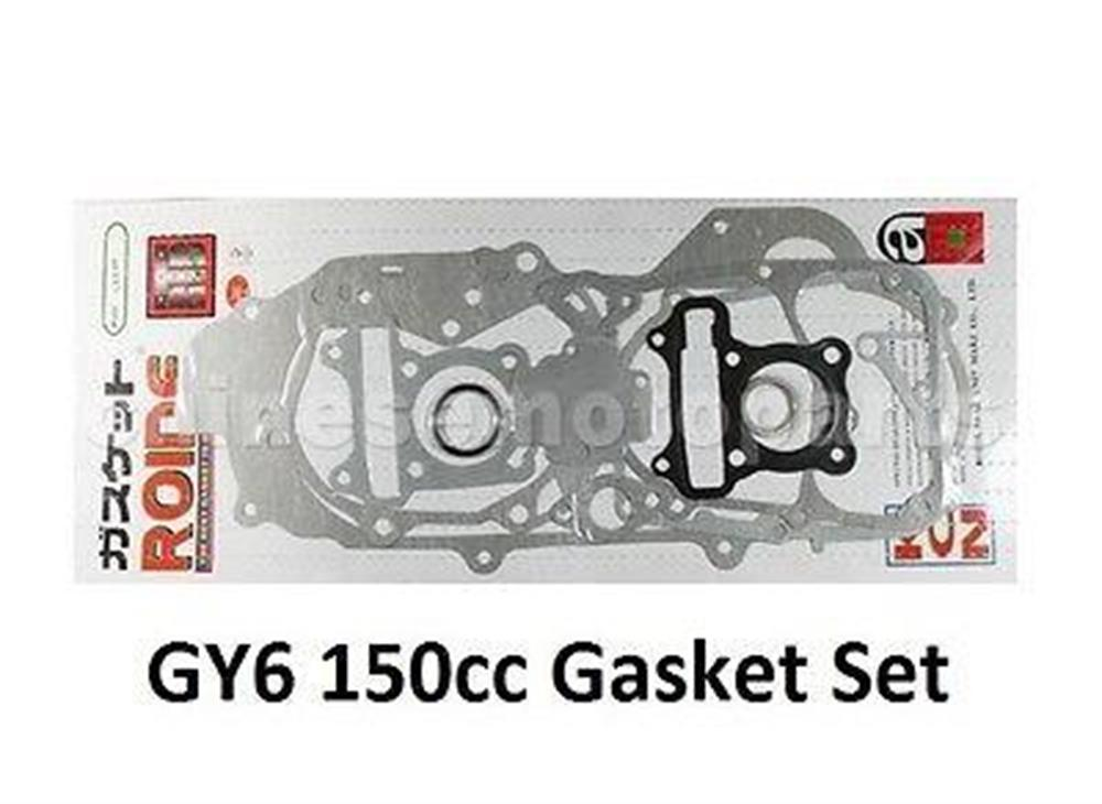 150cc GY6 157qmj Scooter Complete Gasket Set Kit Baja Freedom Honda and More