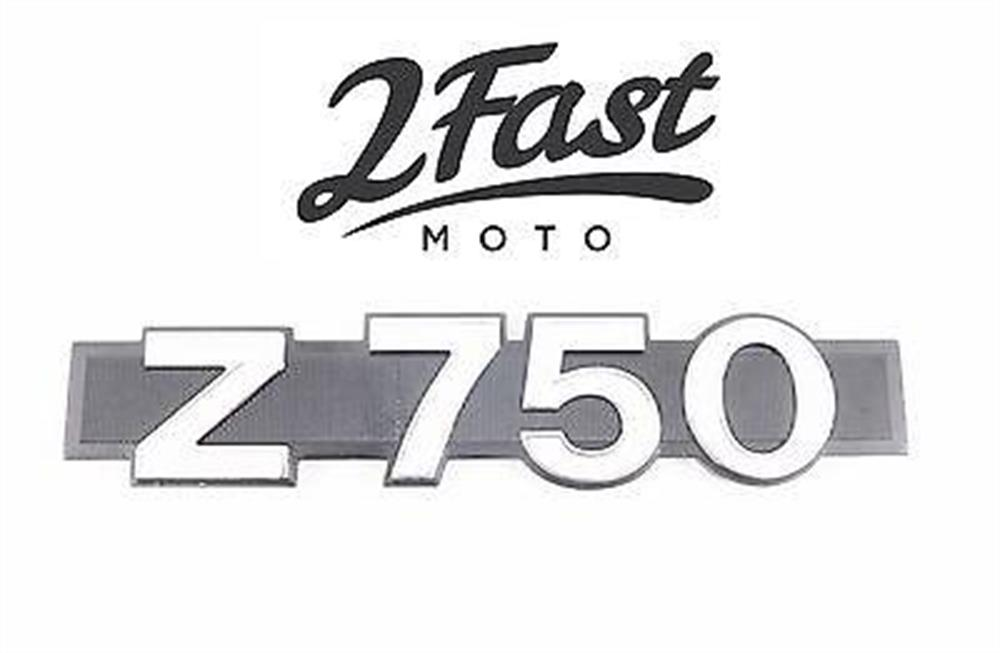 2FastMoto Kawasaki Side Cover Emblem '04-'12 Z750 Z 750 Badge
