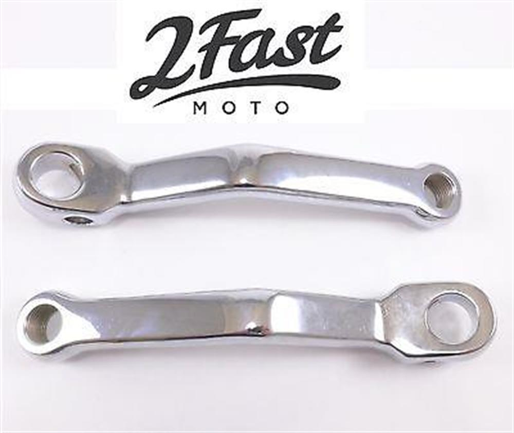 2FastMoto Chrome Moped Crank Arm Puch MK MKII Cobra Maxi Murray