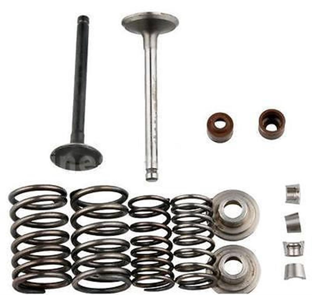 Honda 70cc Valve Rebuild Kit Intake Exhaust Valves Springs CT70 Trail 70 S65
