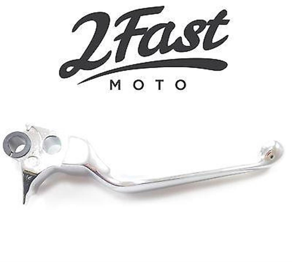 2FastMoto Chrome Wide Blade Brake Lever Dyna Wide Electra Road Glide Harley