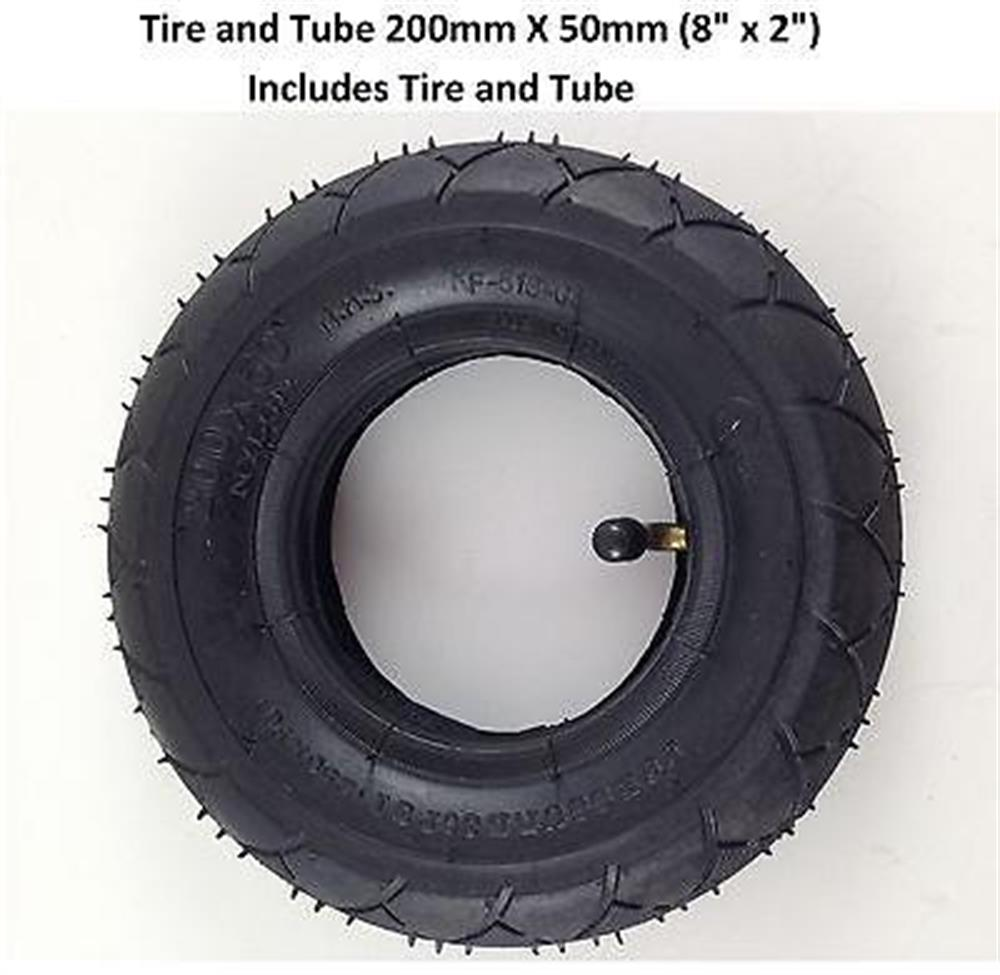 Tire and Tube 200mm X 50mm 8