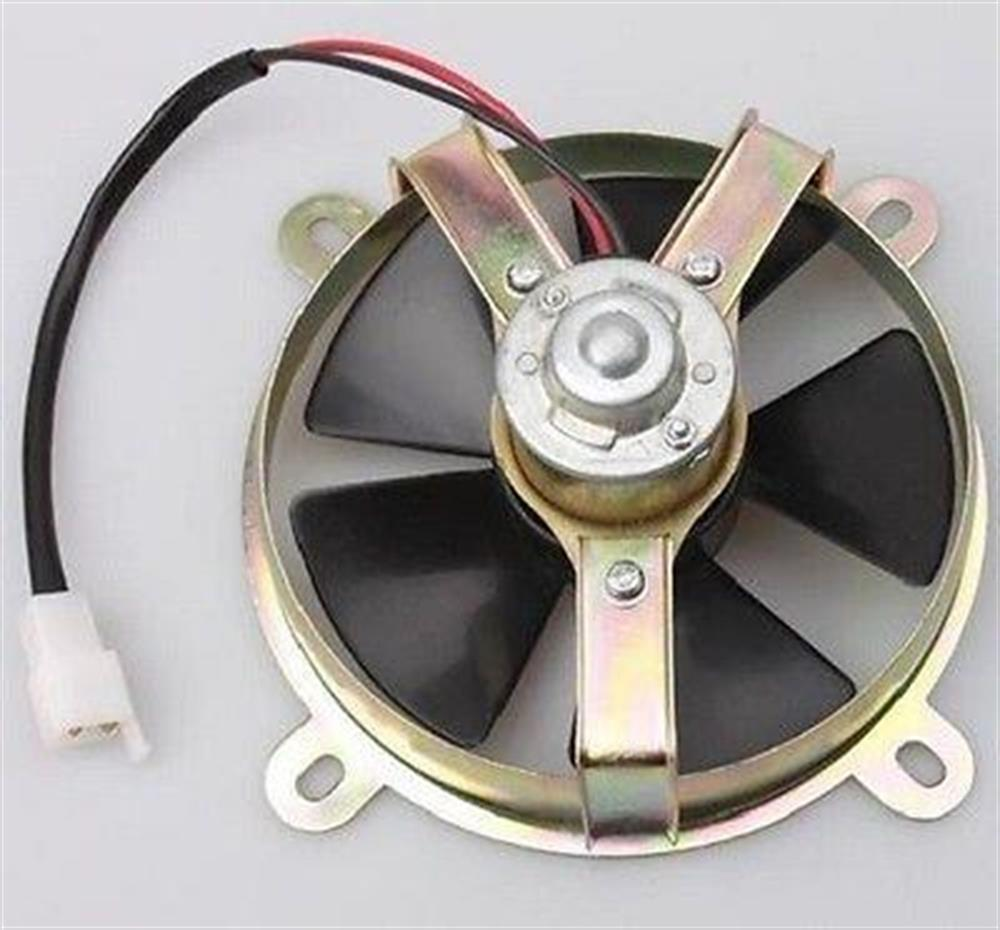 2FastMoto Black Radiator Cooling Fan 12v Electric Motorcycle Harley Davidson