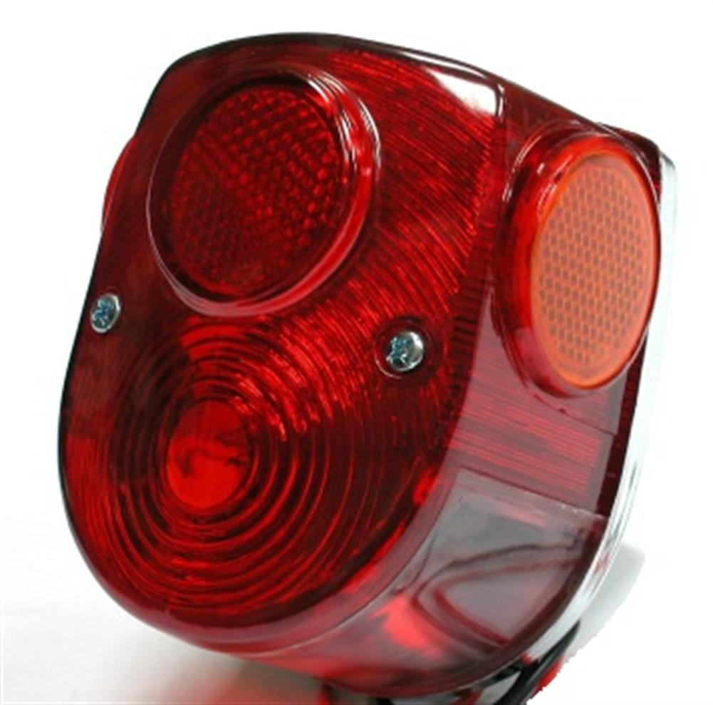 Honda Taillight Tail Light Lamp Lens Replacement Amber Reflectors Z50 CT70 SL