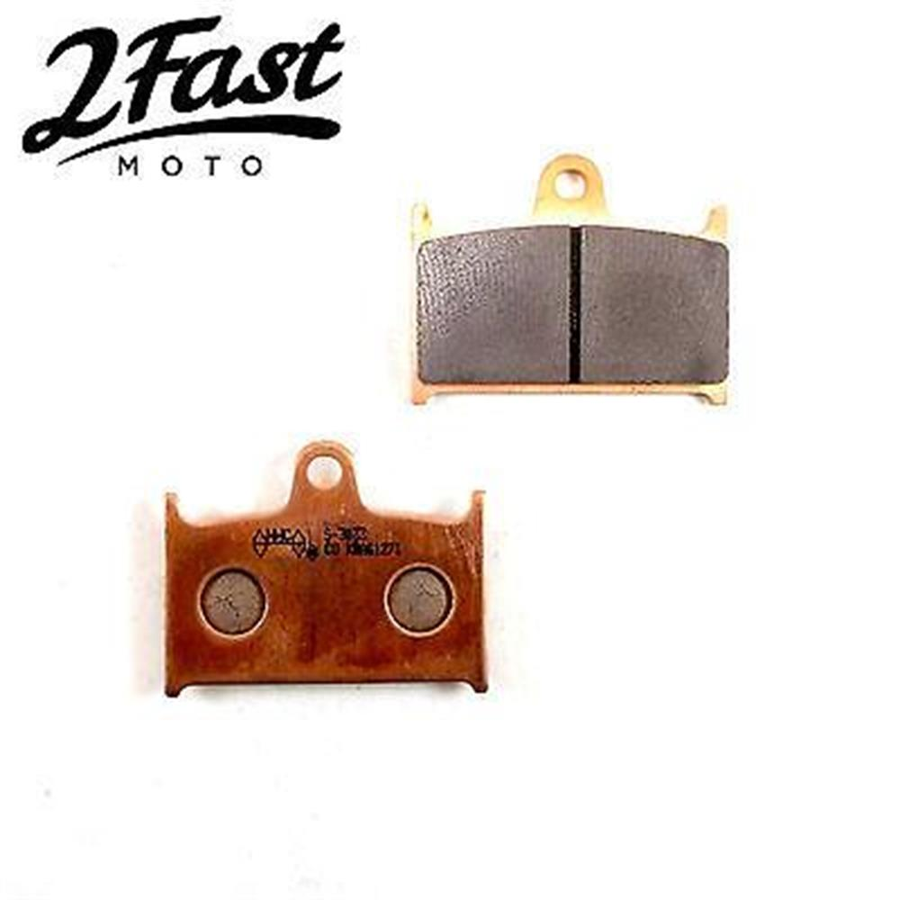 2FastMoto Sintered Front Brake Pads Triumph Speed Triple TT600 T509 Trophy