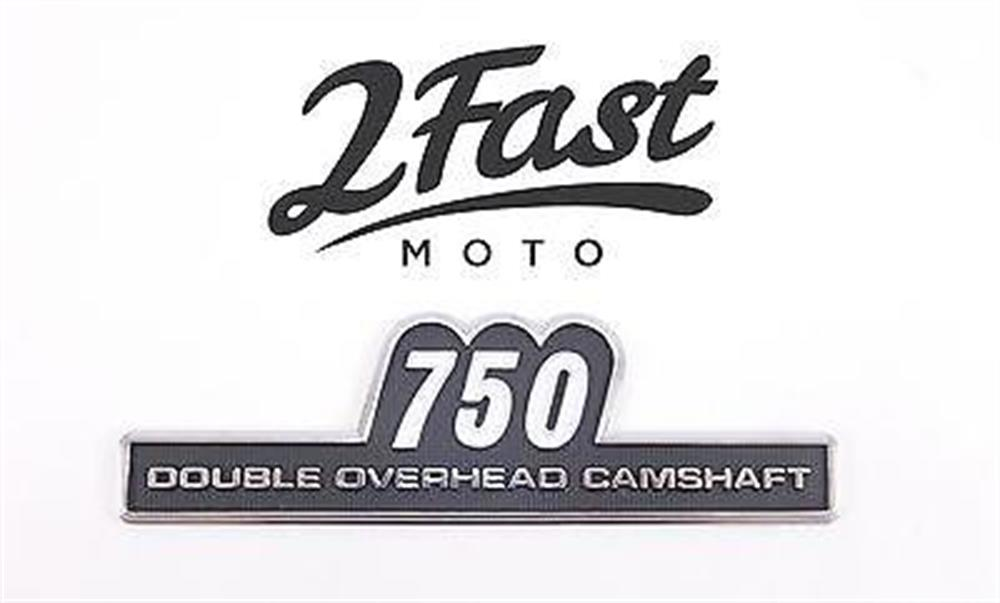2FastMoto Kawasaki Side Cover Emblem KZ750 Z2 Vintage '74-'75 Badge