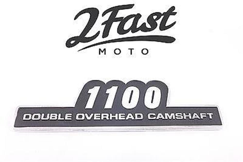 2FastMoto Kawasaki Side Cover Emblem Custom Double Overhead Z1100 Z 1100 Badge