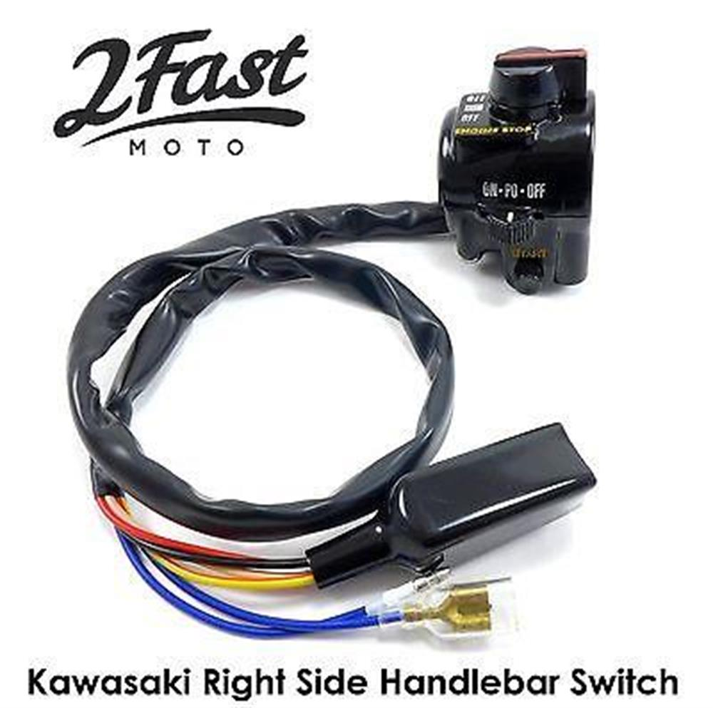 Kawasaki KZ440 KZ750B Right Hand Side Handlebar Switch 46091-1039 Replacement