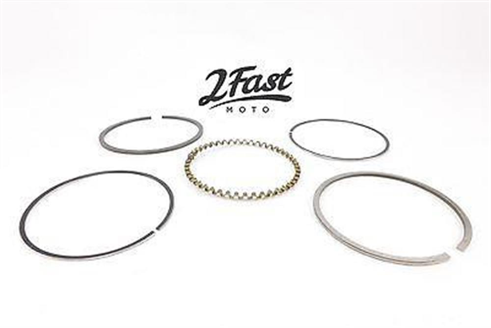 Honda ATC70 ATC 70 70cc ATV Piston Rings Set Standard Domed NEW 2FastMoto