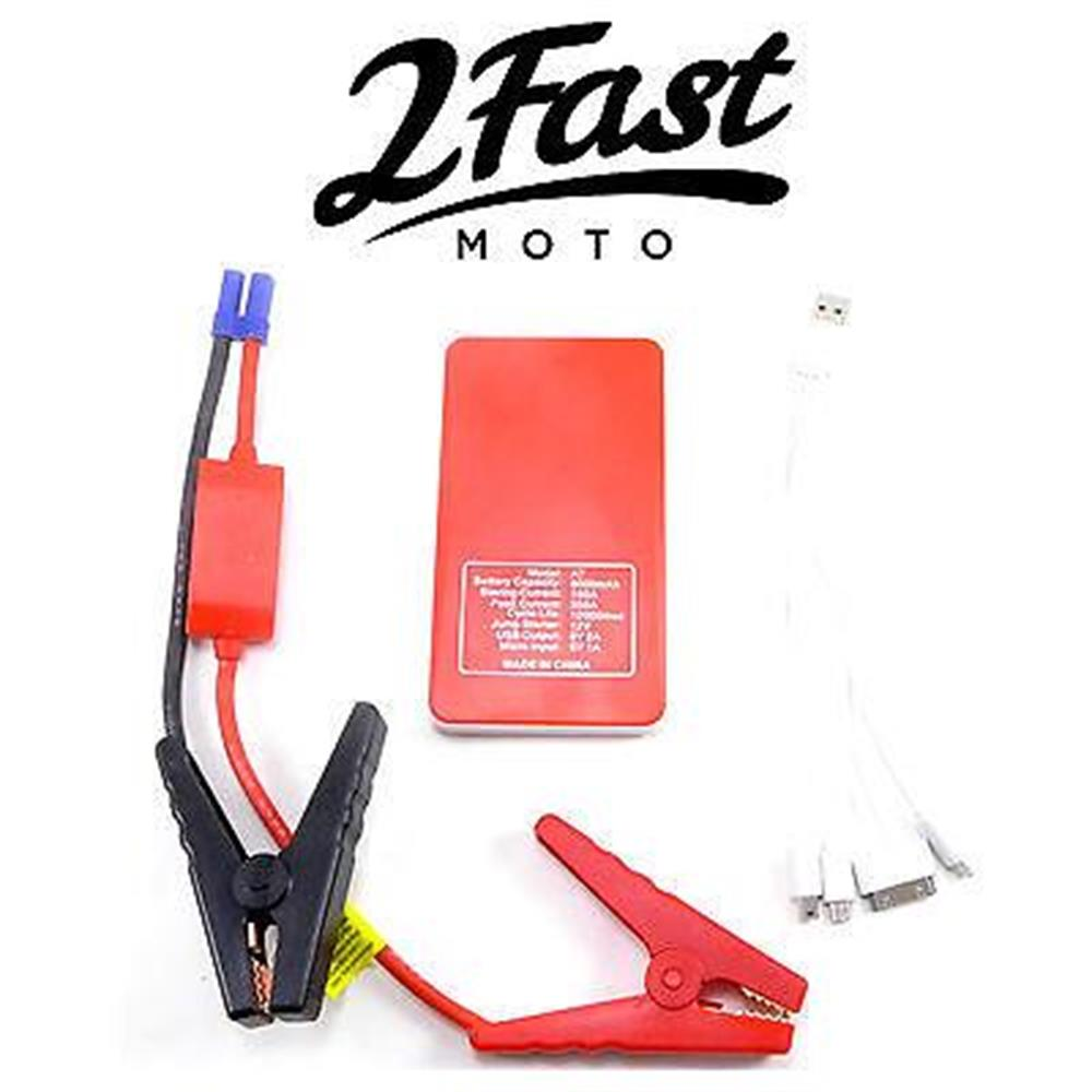 2FastMoto Jump Start Pack Snowmobile Emergency Jumper Battery Rescue Starter