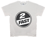 2 FAST BRANDS - CIRCLE LOGO - T-SHIRT