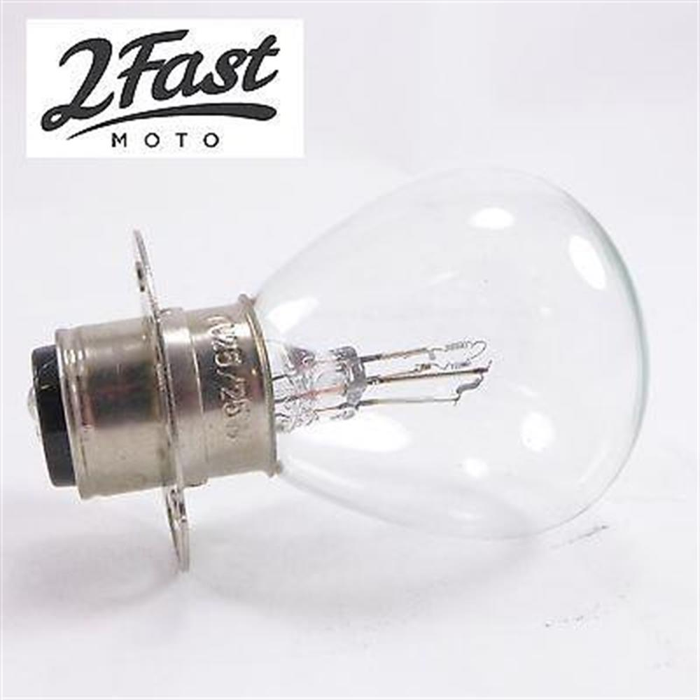 2FastMoto Replacement Headlamp Light Bulb 6v 6 Volt 25W 25/25W Watt Suzuki