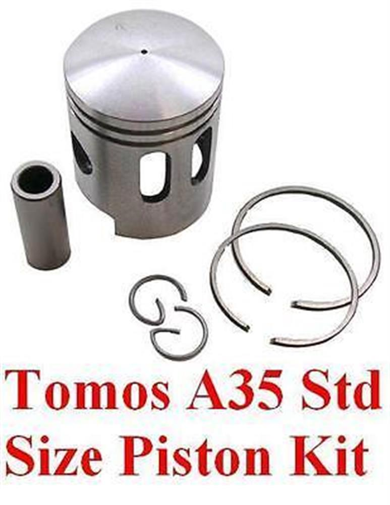 Tomos Targa LX Sprint A35 Piston Kit Rings Pin STD