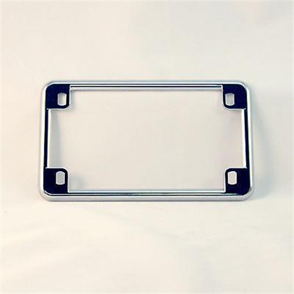 CHROME MOTORCYCLE LICENSE PLATE FRAME for Honda Kawasaki Suzuki Yamaha NEW