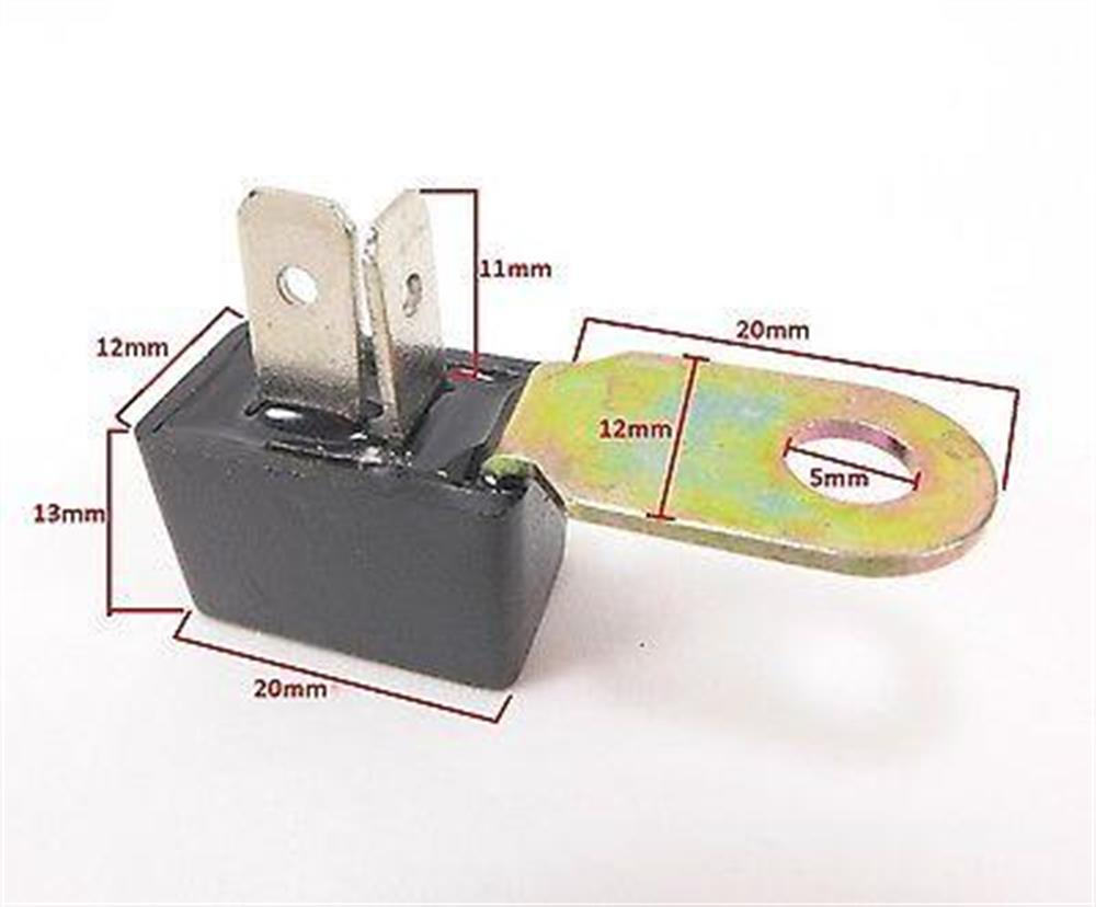 2fastmoto Silicon Rectifier W Bracket Honda Ch125 Ch 125 Elite Nh125 1983 Shadow Motorcycle Quick View