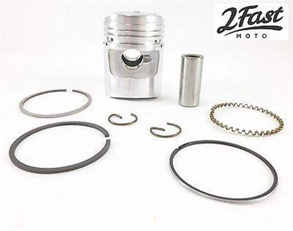 Honda Z50 Z 50 Monkey Bike Piston Kit Standard Domed Rings Pin Clips 2FastMoto