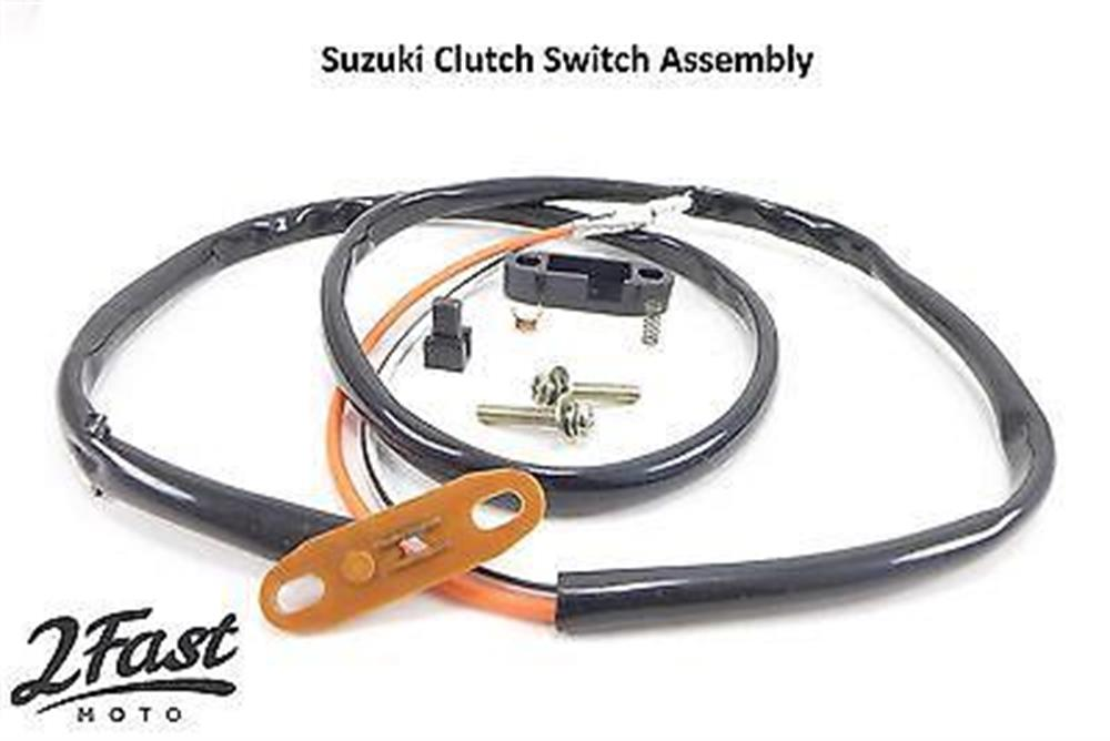 Front Clutch Switch Assembly Suzuki Kit  Replaces OEM 57460-49300 / 57460-45500