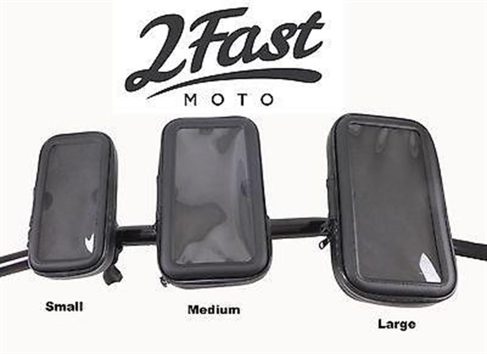 2FastMoto Water Resistant Handlebar Mounted Phone Case iPhone 5 5c