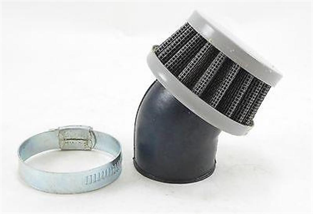 35mm Clamp-on Air Filter Cafe Racer  Bobber Universal Off-Road Street Mini Pod