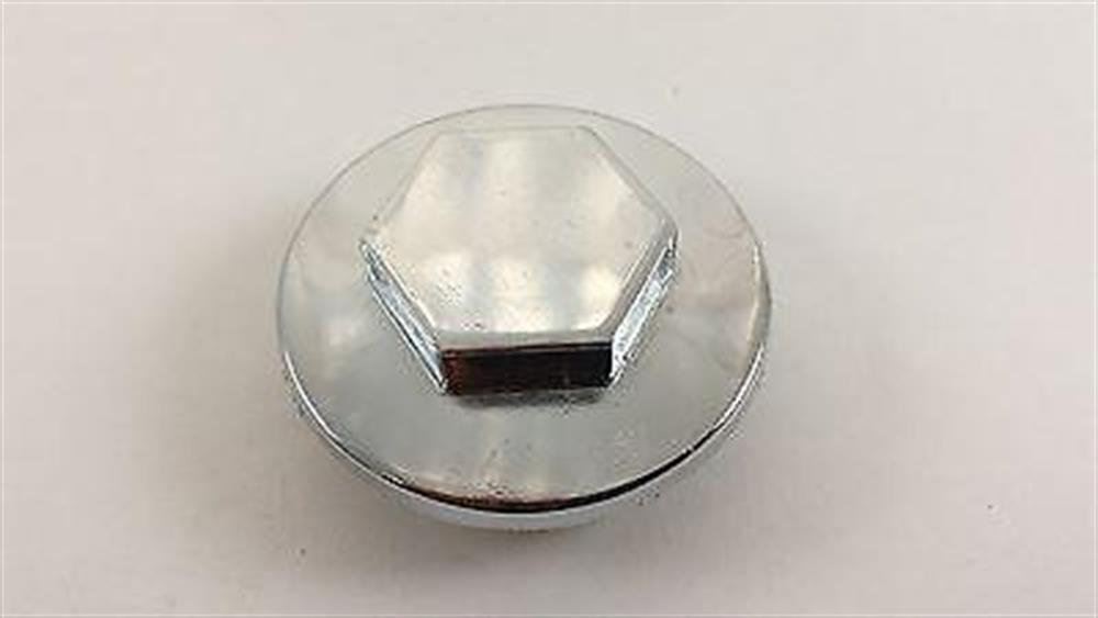 CHROME Honda Rocker Arm Tappet Valve Inspection Adjustment Cover Cap NEW