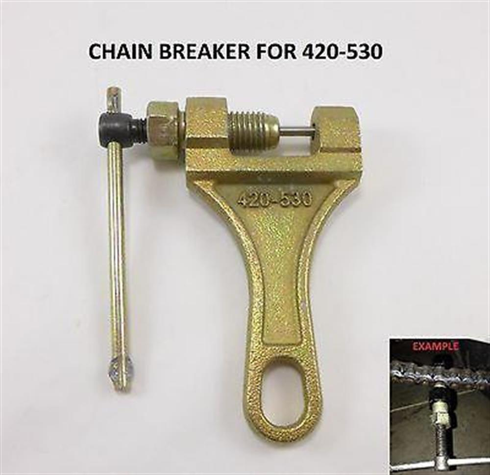 Motorcycle Chain Breaker Link Removal Drive Splitter Dirtbike 4 Wheeler HONDA
