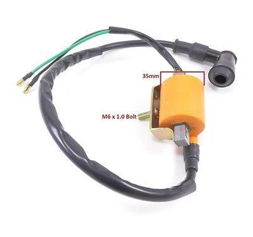 12v Ignition Coil High Performance 12 Volt for CDI 110cc 125cc Scooter ATV  NEW