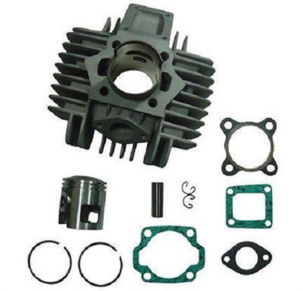2FastMoto Tomos 70cc A35 Big Bore Piston Cylinder Kit Sprint Colibri TX-50 TX50