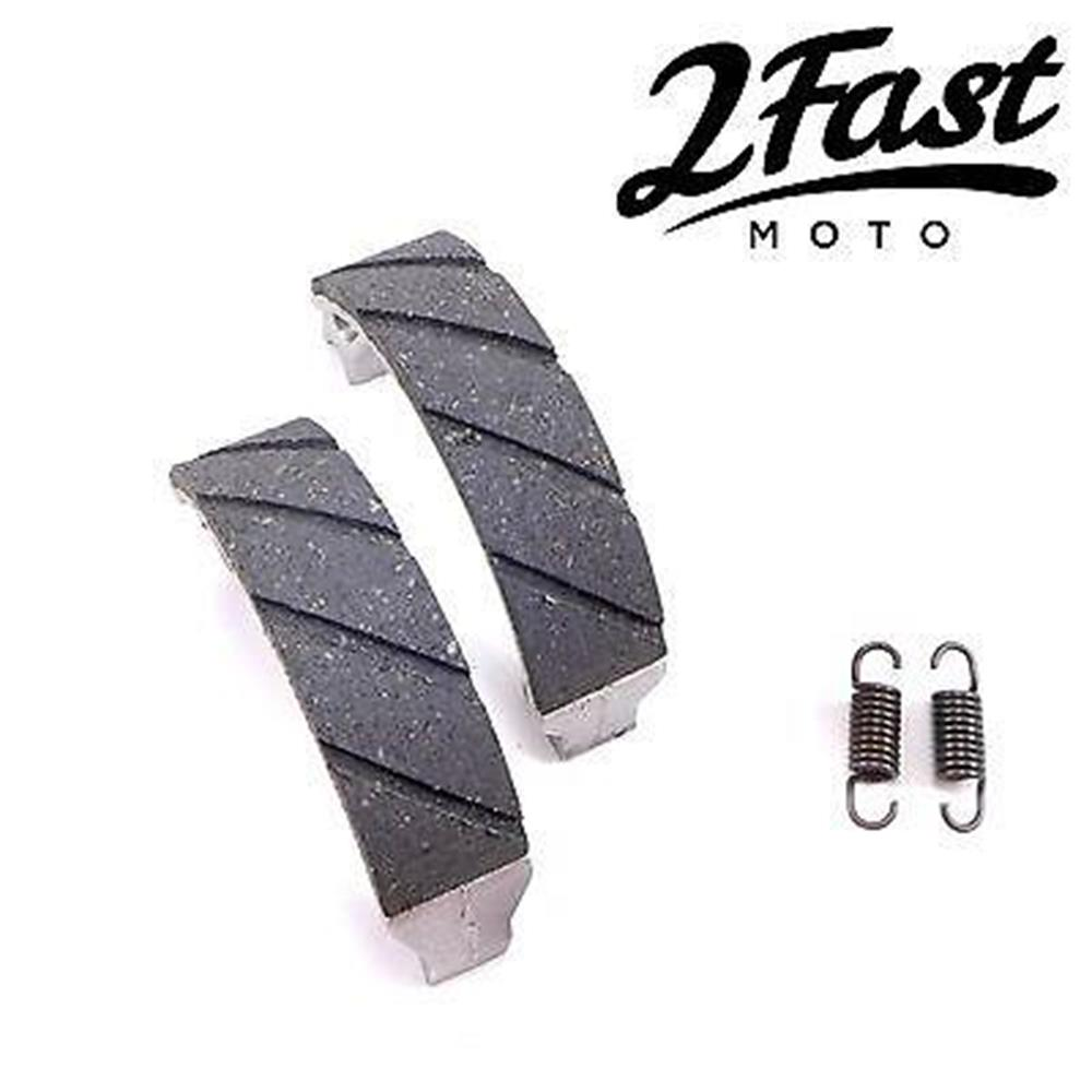 2FastMoto Honda Brake Shoes ATV ATC TRX Water Grooved Kevlar/Carbon NEW