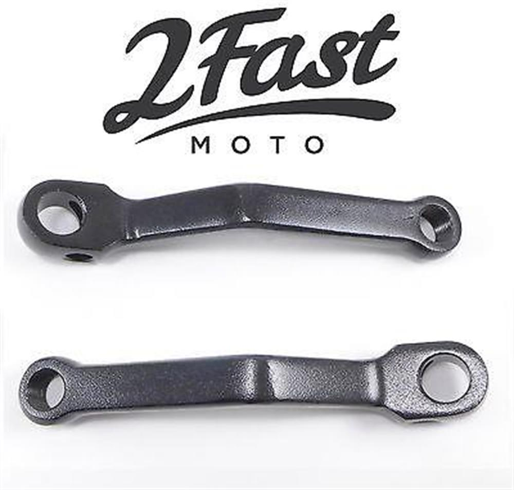 2FastMoto Black Moped Crank Arm Tomos A35 A 35 Golden Bullet TX50 TX-50 TX 50