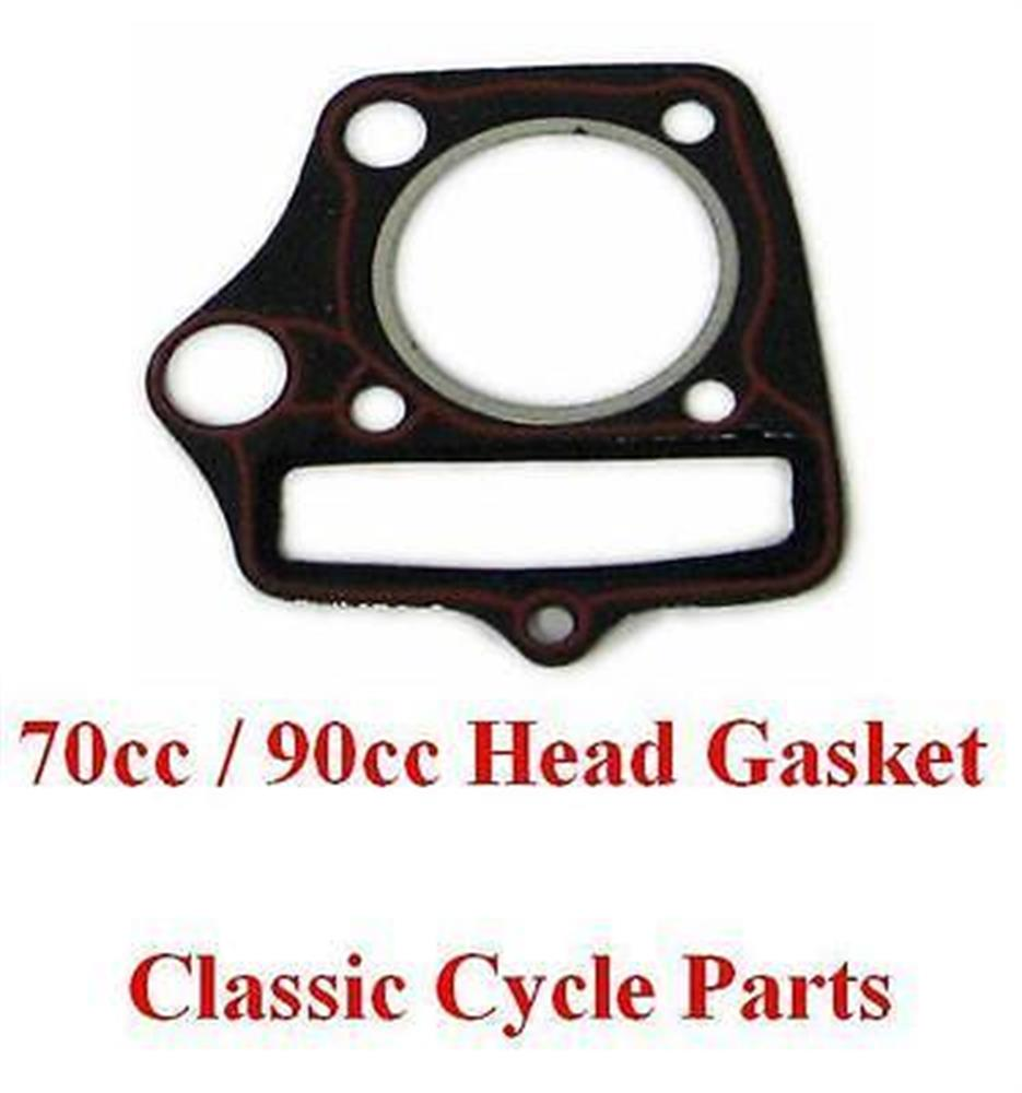 Honda Cylinder Head Gasket C70 C70M Passport CL70 CT70 Trail 70 SL70 XL70 70cc