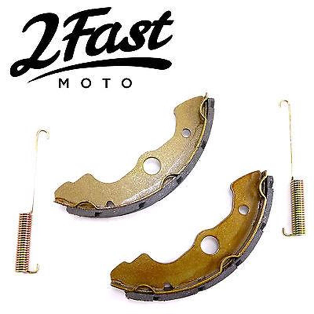 Honda Water Grooved Kevlar Carbon Front Brake Shoes TRX 300 350 400 450 500 650