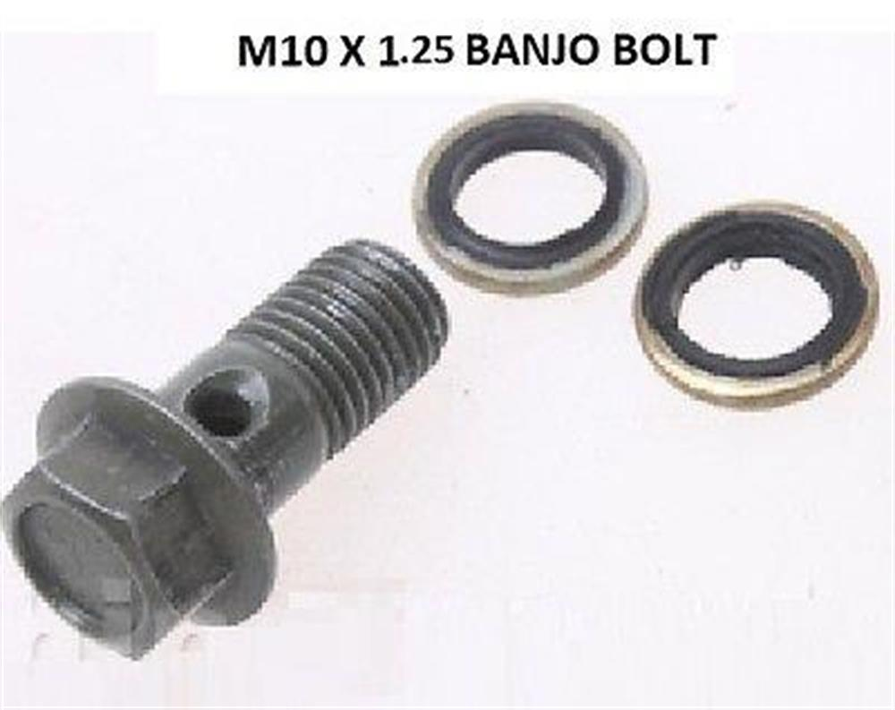 Motorcycle Banjo Disk Brake Bolt M10x1.25x22 Clutch Master Cylinder Screw Honda