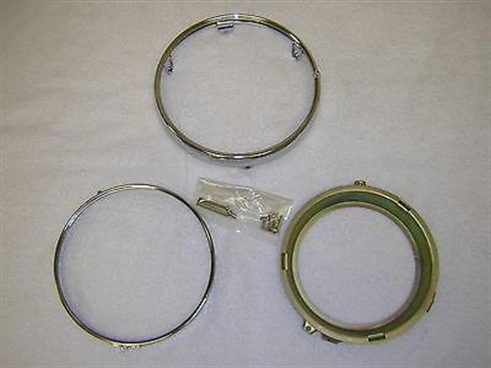 Honda Chrome Headlight Head Light Rim Ring Retainer CB500 CB500T CB550 CX500