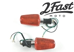 Yamaha Chrome Turn Signals (Pair)