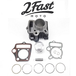 70cc Cylinder and Domed Piston Kit - Honda CT70 and Others