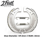 2FastMoto Water Grooved Brake Shoes