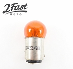 12 V 23/8W Amber Dual Filament Bullet Zeppelin Replacement Bulb