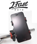 Handlebar Mounted Cell Phone Holder (Assorted Colors)