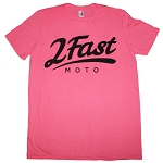 2FastMoto Logo Shirt T-Shirt <br><font color=red>FREE WITH ANY ORDER OVER $100</font>