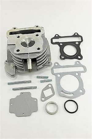 6 Cylinder Head Assembly 50-80cc 139qmb Scooter CF-Moto CF Moto Kymco SCOOTER