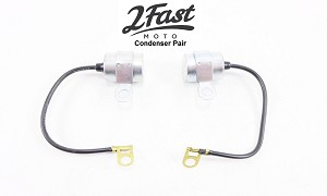 2FastMoto Yamaha YM1 YDS3C YDS3-C PAIR Right & Left Condenser