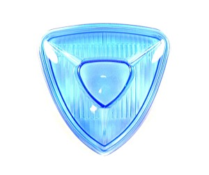 2FastMoto Aris Type Triangle Headlight Spotlight Blue Glass Lens