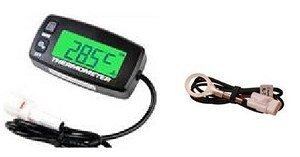 2FastMoto Digital Temperature Temp Gauge 2 4 Stroke Dirtbike Offroad Trail Honda